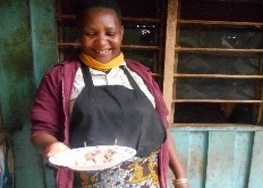 Eaterie owner, tanzania